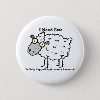Support Parkinson's Research Pinback Button