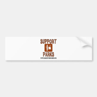 support parks san jose rangers bumper sticker