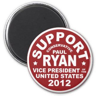 Support Paul Ryan Vice President Seal Fridge Magnet