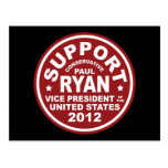 Support Paul Ryan Vice President Seal Postcards