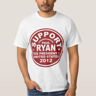 Support Paul Ryan Vice President Seal Value Tee