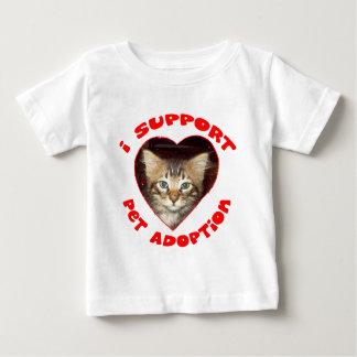 Support Pet Adoption Baby T-Shirt