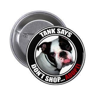 Support Pet Adoption Don t Shop Adopt Pinback Buttons