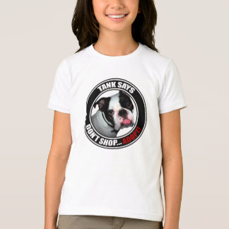 Support Pet Adoption, DON'T SHOP, ADOPT! T-Shirt