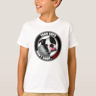 Support Pet Adoption, DON'T SHOP, ADOPT! T-Shirt