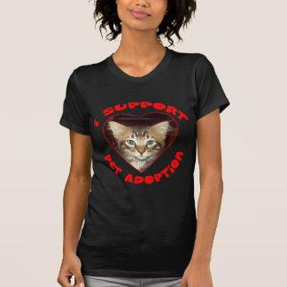 Support Pet Adoption T-Shirt