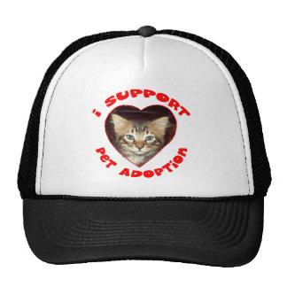 Support Pet Adoption Trucker Hat