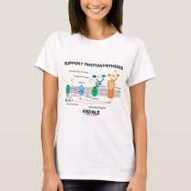 Support Photosynthesis Exhale (Environmental) T-Shirt