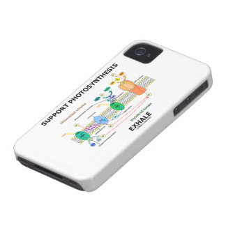 Support Photosynthesis Exhale (Light-Dependent) iPhone 4 Case