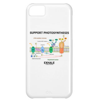 Support Photosynthesis Exhale (Light-Dependent) iPhone 5C Case