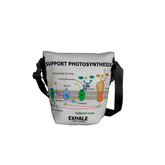 Support Photosynthesis Exhale (Light-Dependent) Courier Bags