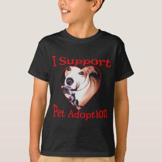 Support Pit Bull Adoption T-Shirt