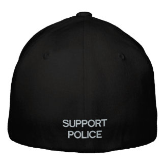 SUPPORT POLICE BASEBALL CAP by eZaZZleMan com