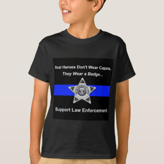 Support Police Heroes T-Shirt
