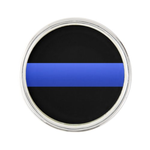 Support Police on the Thin Blue Line Pin