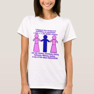 Support Polygamy ladies Tee