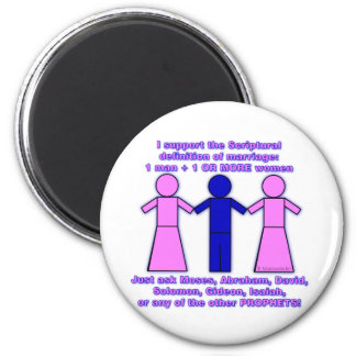 Support Polygamy Magnet