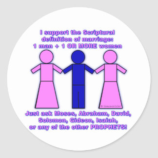 Support Polygamy stickers