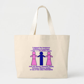 Support Polygamy tote Bag