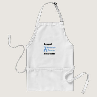 Support prostate cancer awareness adult apron