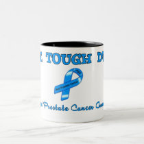 SUPPORT PROSTATE CANCER AWARENESS Two-Tone COFFEE MUG