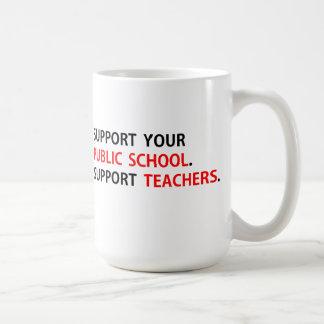 Support Public Education Teachers mug