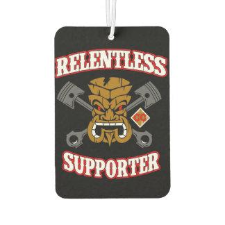 Support Relentless Car Club Air Freshener