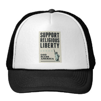 Support Religious Liberty Trucker Hat