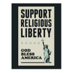 Support Religious Liberty Postcards