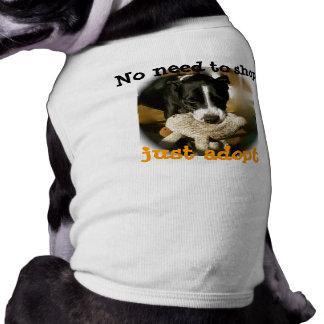 Support Rescue Pet Animals Pet Tee Shirt