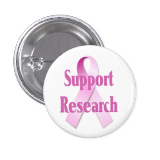 Support Research Breast Cancer Button
