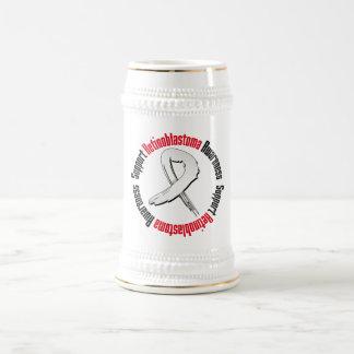 Support Retinoblastoma Awareness 18 Oz Beer Stein