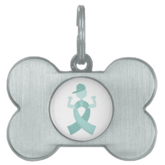 Support Ribbon Pet Name Tags