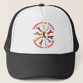 Support Ribbons Trucker Hat