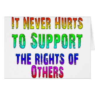 Support Rights of Others Card