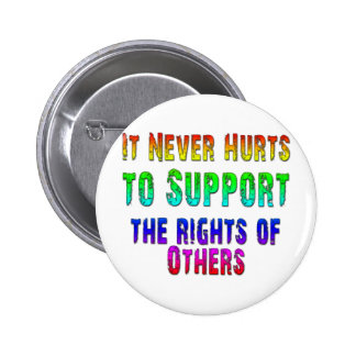 Support Rights of Others Pinback Button