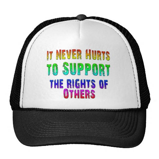 Support Rights of Others Trucker Hat