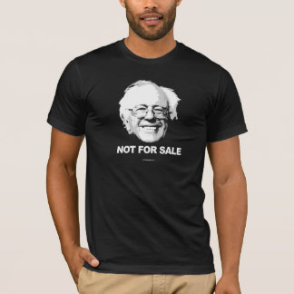Support Sanders - Not For Sale - white -  Politica T-Shirt