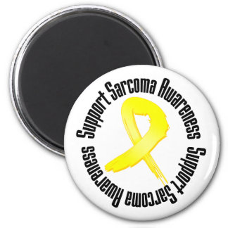 Support Sarcoma Awareness 2 Inch Round Magnet