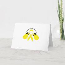 Support Sarcoma Awareness Card
