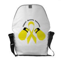 Support Sarcoma Awareness Courier Bag