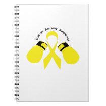 Support Sarcoma Awareness Notebook