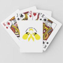 Support Sarcoma Awareness Playing Cards