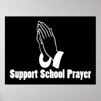 Support School Prayer Print