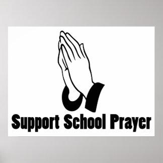 Support School Prayer Poster