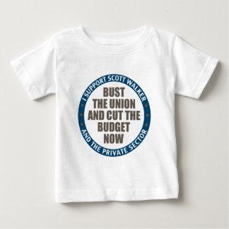 Support Scott Walker Infant T-shirt