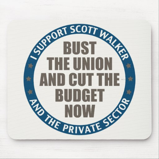 Support Scott Walker Mouse Pad