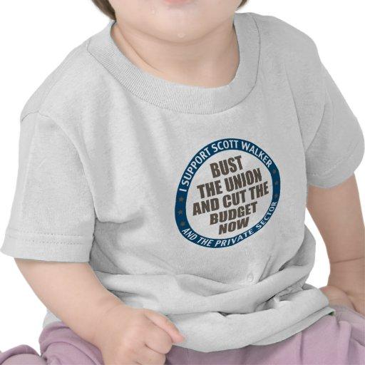 Support Scott Walker Shirt