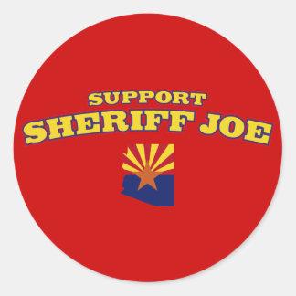 Support Sheriff Joe Classic Round Sticker