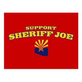 Support Sheriff Joe Postcard